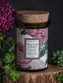 Wild Rose & Peony Candle