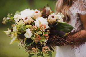 Wild Spring Dreams Bridal Bouquet in La Grande, OR | FITZGERALD FLOWERS