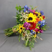 Wild Summer Mix Bridal or Brides Maid Bouquet