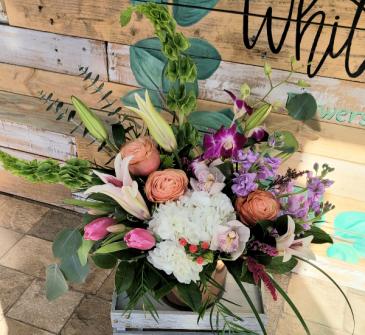 Wild Thang Valentine's arrangement