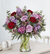 Wild Winter Bouquet Vase Arrangement