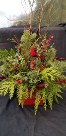 Wild Woods Christmas Arrangement