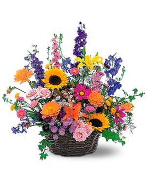 Wildflower Basket  in Lebanon, NH | LEBANON GARDEN OF EDEN FLORAL SHOP