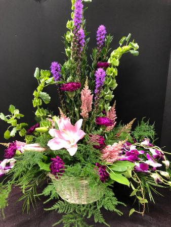 Wildflower Basket
