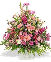 Wildflower Basket Sympathy Basket