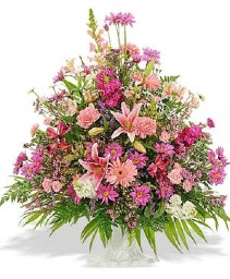 Wildflower Basket Sympathy Basket