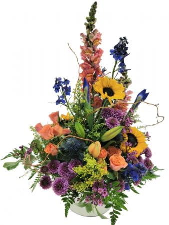 Wildflower Garden Container Arrangement