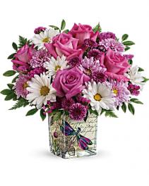 .Wildflower In Flight Bouquet