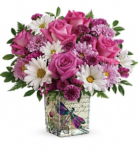 Wildflower In Flight Bouquet   in Fort Lauderdale, FL | ENCHANTMENT FLORIST