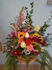 Wildflower song basket