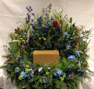 Wildflower Urn Arrangment
