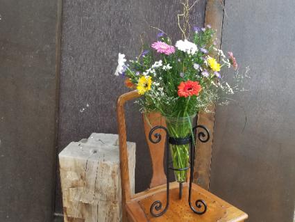 Wildflower Vase  Fresh Flowers