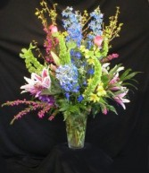Wildflower Flare  Vase Arrangement