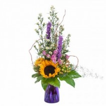 Wildflower Welcome Fresh Flower Arrangement