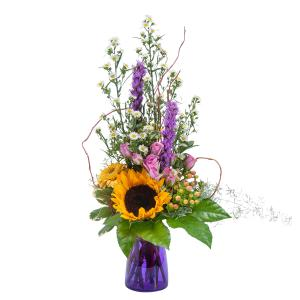 Wildflower Welcome Arrangement in Roswell, NM | BARRINGER'S BLOSSOM SHOP