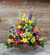 Wildflower Whimsy Basket