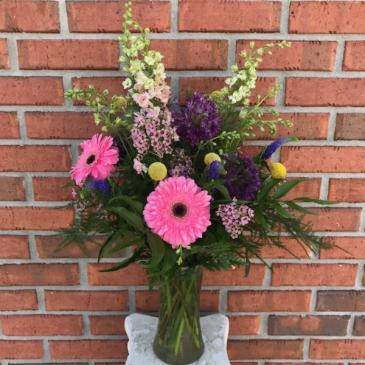 Wildflower Wishes Vase