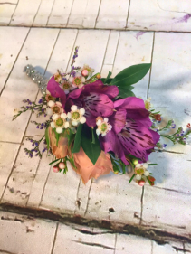 Wildflowers Boutonniere Prom Boutonniere