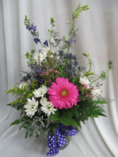 Wildflowers Fresh Mixed Vased Arrangement