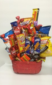 Will You Be Mine Sweet Basket! Gift basket