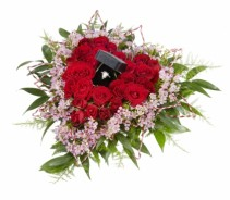 WILL YOU MARRY ME Proposal Arrangement(Wedding Ring not included)