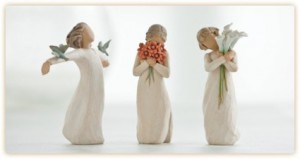 Willowtree Angels  gift item in Edson, AB | YELLOWHEAD FLORISTS LTD