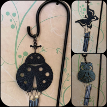 Wind chime price is per unit  Adorable add ons for arrangments