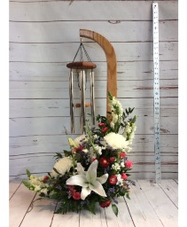 Wind Chimes & Flowers