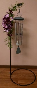 Windchime Keepsake Arrangement - AWF17A Call 605-852-2880 for Windchime Options