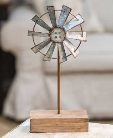 Windmill Finial