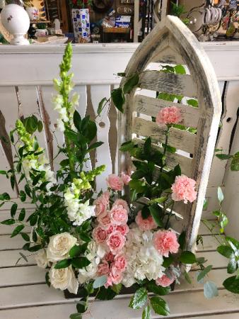 Window to my heart Arrangemet  Funeral Arrangement