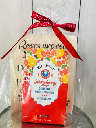 Wine-A-Rita and Dish Cloth Gift Item