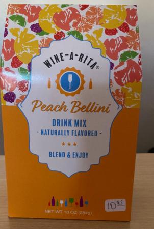 Wine-A-Rita- Peach Bellini