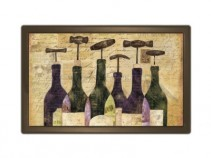 Wine bottles Indoor/Outdoor Mat
