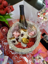 Cheer's to You Gift Basket