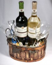 Wine for Two - petite Gift Basket Gift Basket