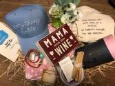 Mama needs Wine Gift basket