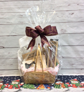 Wine Lovers Basket Gift Basket