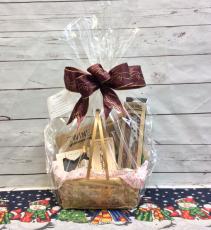 Wine Lovers Basket Gift Basket