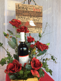 Wine & Roses Artificial
