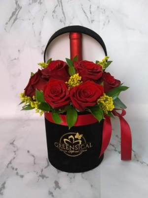 Wine Surprise  in Delray Beach, FL | Greensical Flowers Gifts & Decor