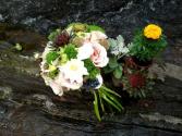 Winery Wedding Bridal Bouquet