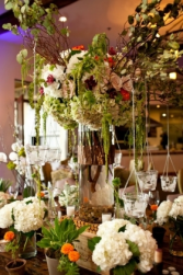 Winery Wedding Table Centerpiece