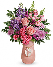 Winged Beauty Bouquet Vase Arrangement