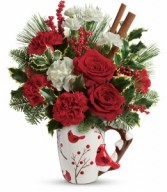 Wings Of Winter Floral Bouquet