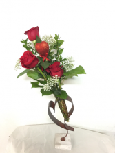 Winning her heart. Red Rose Arrangement
