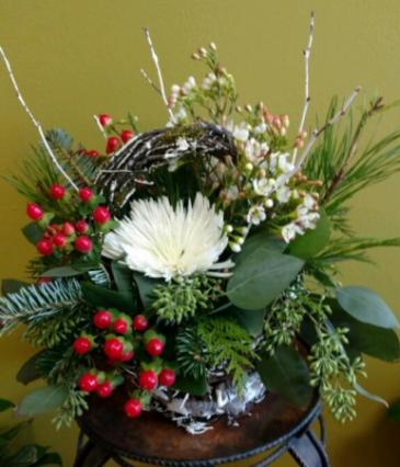 Winter Basket Christmas