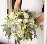 Winter Beauty Bridal Bouquet