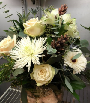 Winter Beauty Custom Design Basket or Container in Bristol, VT | Scentsations Flowers & Gifts