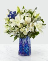Winter Blis Bouquet Vase Arrangement